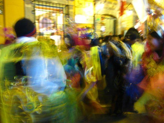 A Bolivian Parade Dances by