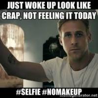 #nomakeupselfie