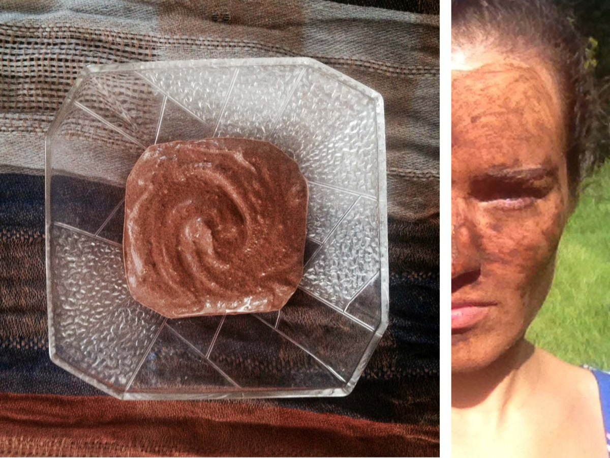 DIY Mocha Face Mask