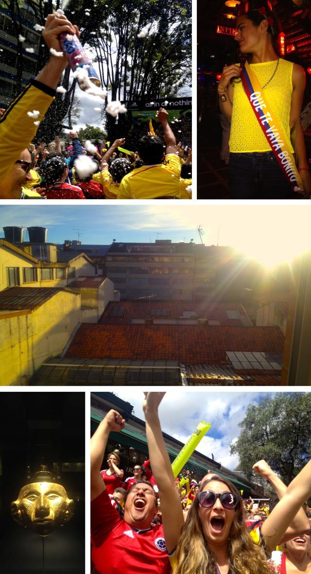 On Bogota